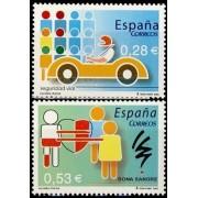 España Spain 4150/51 2005 Valores cívicos, lujo MNH