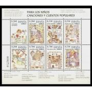 España Spain 4154 2005 Para los niños Canciones y Cuentos populares , lujo MNH