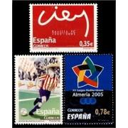 España Spain 4156/58 2005 Deportes, lujo MNH