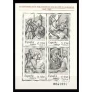 España Spain 4161 2005 IV Centenario de la publicación de El Ingenioso  Hidalgo Don Quijote de la Mancha, lujo MNH