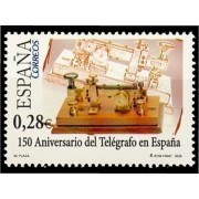 España Spain 4162 2005 CL Aniversario del Telégrafo en España, lujo MNH