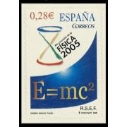 España Spain 4163 2005 Año Mundial de la física, lujo MNH