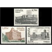 España Spain 4170/72 2005 Castillos, lujo MNH