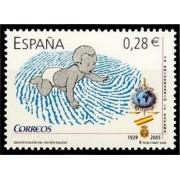 España Spain 4173 2005 Identificación del recién nacido, lujo MNH