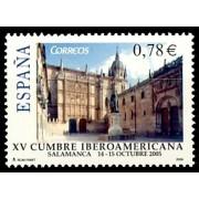 España Spain 4188 2005 XV Cumbre Iberoamericana, lujo MNH