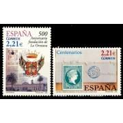 España Spain 4190/91 2005 Centenarios, lujo MNH