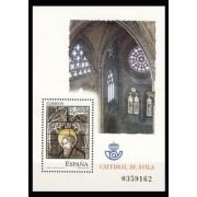 España Spain 4196 2005 Vidrieras de la Catedral de Avila, lujo MNH