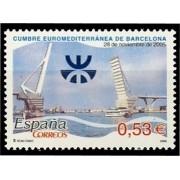 España Spain 4197 2005 Cumbre Euromediterránea, lujo MNH
