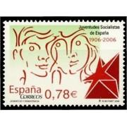España Spain 4240 2006  C Años de las Juventudes Socialistas, lujo MNH