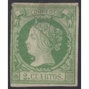 España Spain 51 1860 - 1861 Isabel II MH