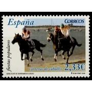 España Spain 4253 2006  Carreras Caballos de Sanlúcar de Barrameda, lujo MNH