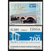 España Spain 4256/57 2006 Centenarios, lujo MNH