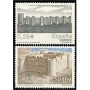 España Spain 4259/60 2006 Castillos, lujo MNH
