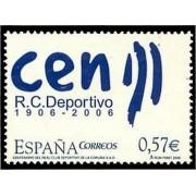 España Spain 4266 2006 Centenario del  Real Club Deportivo de La  Coruña, lujo MNH