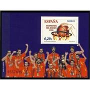 España Spain 4267 2006 España Campeones del Mundo Baloncesto, lujo MNH