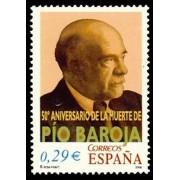 España Spain 4285 2006 L Aniversario de la muerte de Pío Baroja, lujo MNH