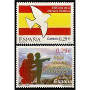 España Spain 4286/87 2006 Año de la Memoria histórica, lujo MNH