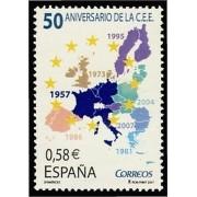 España Spain 4319 2007 L Aniversario de la CEE, lujo MNH