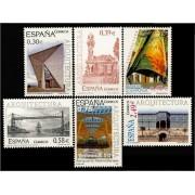 España Spain 4323/28 2007 Arquitectura, lujo MNH