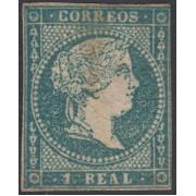 España Spain 41 1855 Isabel II