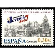 España Spain 4329 2007 Exposición Nacional de Filatelia Juvenil Juvenia 2007, lujo MNH
