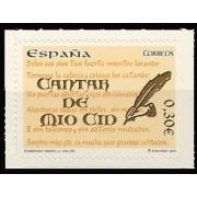 España Spain 4331 2007 Cantar del Mio Cid, lujo MNH