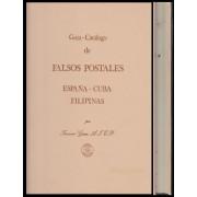 Catálogo Guía Graus 1986 Falsos Postales España Cuba y Filipinas