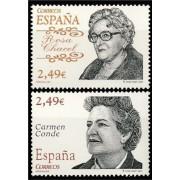 España Spain 4339/40 2007 Personajes, lujo MNH