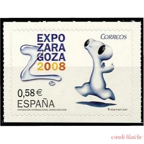 España Spain 4344 2007 Exposición Internacional Expo Zaragoza 2008, lujo MNH