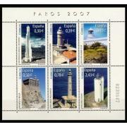 España Spain 4348 2007 Faros, lujo MNH
