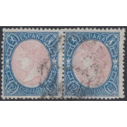 España Spain 76 1865 Isabel II Pareja