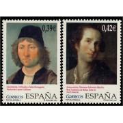 España Spain 4357/58 2007 Pintura Española, lujo MNH