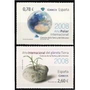 España Spain 4387/88 2008 Ciencias de la Tierra y del Universo, lujo MNH