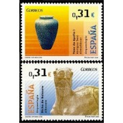 España Spain 4395/96 2008 Arqueología, lujo MNH