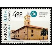España Spain 4400 2008 IV Centenar de la Universidad de Oviedo, lujo MNH