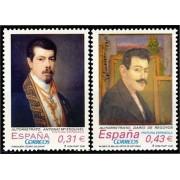 España Spain 4431/32 2008 Pintura española, lujo MNH
