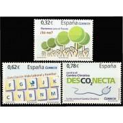 España Spain 4472/74 2009 Valores cívicos, lujo MNH