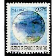 España Spain 4479 2009  Objetivos de desarollo del Milenio, lujo MNH