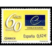 España Spain 4482 2009 LX Aniversario del Consejo de Europa, lujo MNH