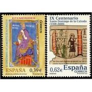 España Spain 4487/88 2009 Efemérides, lujo MNH