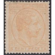 España  Spain 191 1878 Alfonso XII MH