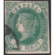 España Spain 62 1862 Isabel II
