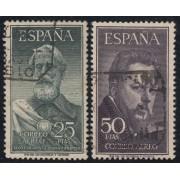 España Spain 1124/25 1953 Legazpi y Sorolla Sellos Usados