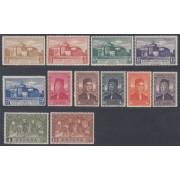 España Spain 547/58 1930 Colon Columbus MH
