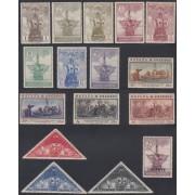 España Spain 531/46 1930 Descubrimiento de America Colon Columbus MH