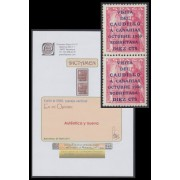 España Spain 1089 1951 Pareja Dictamen Graus 260€