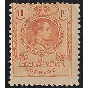 España Spain 280 1909/1922 Alfonso XIII Medallón MNH