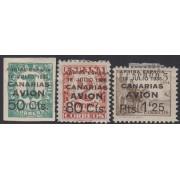 España Spain Canarias 20/22 1937 Cifras y Cid Numbers  Avión MH