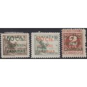 España Spain Canarias 34/36 1937 Cifra y Cid Number MH