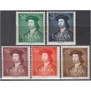 España Spain 1106/10 1952 Fernando El Católico MH